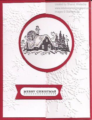 Circle Flip Card