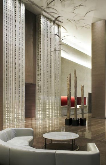Beach Club II Lobby, Florida by Yabu Pushelberg