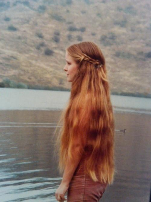 I would love to have hair as long as that