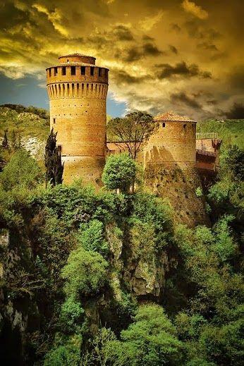 Fortress, Brisighella, Italy