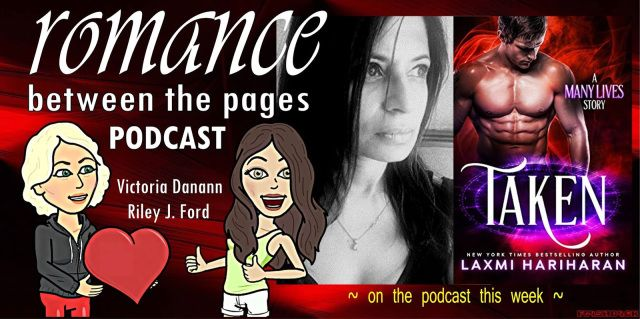 This weeks podcast from romance between thée pages features Laxmi Hariharan  Ever wondered about the personalities behind your favorite books? Victoria Dananns new podcast with Riley J. Ford has an incredible lineup of authors booked through the spring. No question is out of bounds. Check it out!  THIS WEEKS BEST SELLING AUTHOR  Laxmi Hariharan!  I am a New York Times bestselling author of Paranormal Romance.  Listen on Itunes (Subscribe so you never miss an episode! Its FREE!)