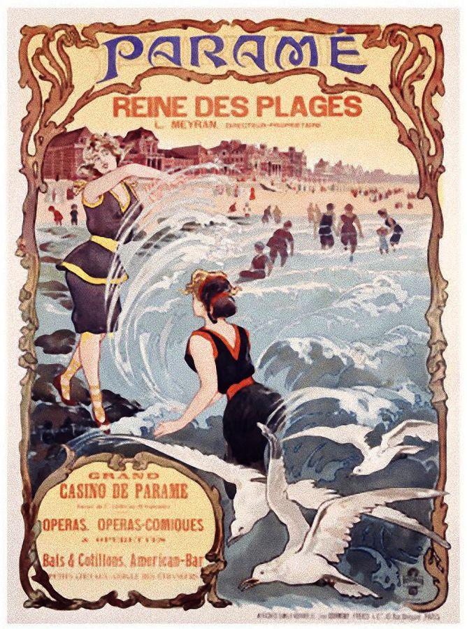Paramé, reine des plages - Bretagne - France -