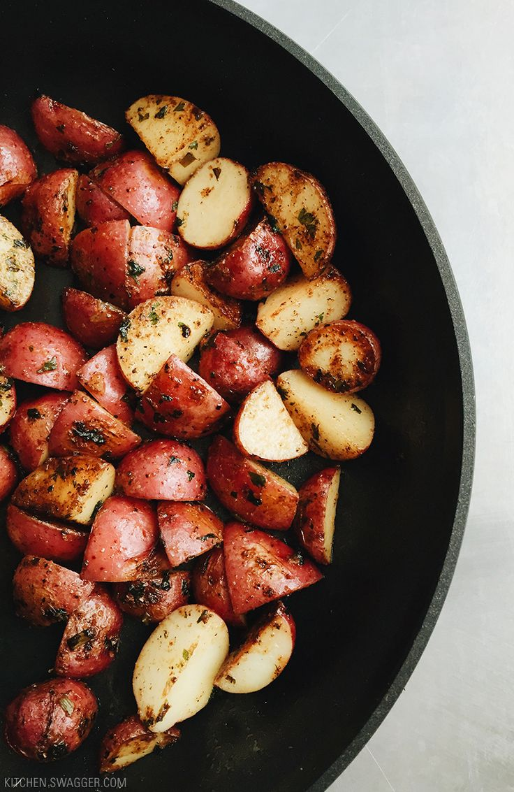 Roasted Red Potatoes with Garlic and Rosemary Recipe