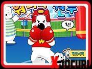 joc de box cu catei