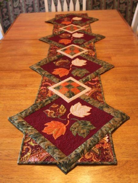 Fall Table Runner More