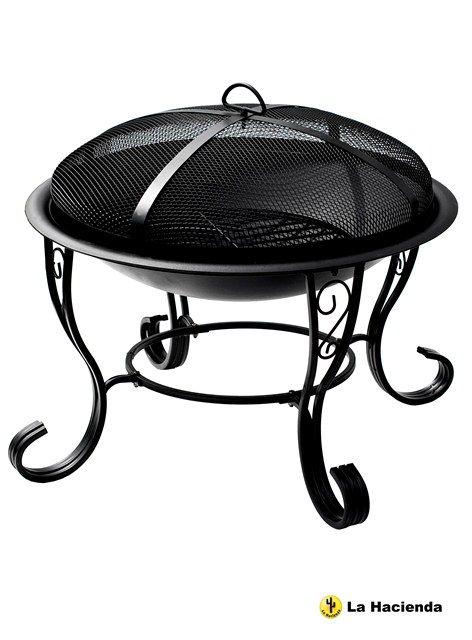 Barbecue San Diego  Questo braciere in acciaio in stile tradizionale è un ottimo modo per portare calore e design al vostro giardino.             Dimensioni: Altezza: 45cm (17.7ins) Diametro: 61cm (24ins)