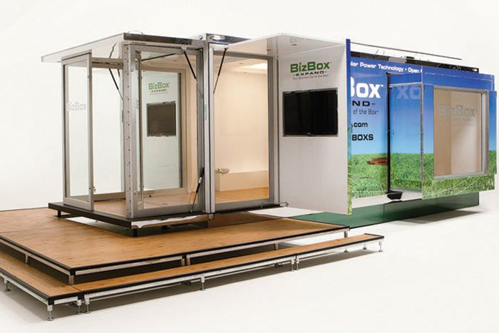 A Solar-Powered, Portable, Pop-Up Venue | BizBash