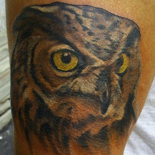 Syracuse, NY - Dawn of Time (Tip Hill area) Amazing tattoo!