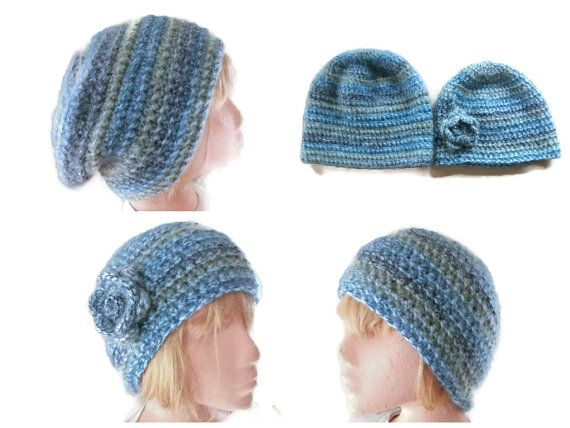 PDF PATTERN/TUTORIAL for Crocheted Slouchy by UniquelyYourDesigns, £3.00
