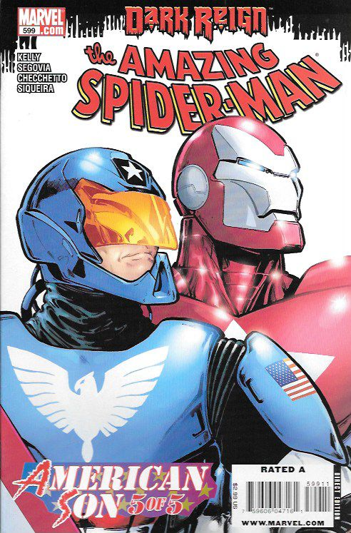 """American Son: Part 5"" Dark Reign Tie-In __ Written By Joe Kelly , Art Marco…"