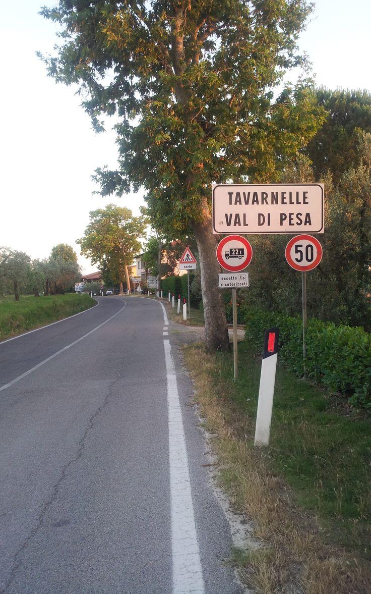 Tavarnelle Val di Pesa Italië (Vakantie Toscane Italië juli 2013).