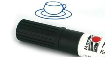 Porcelain Paint Pens - Food Safe Black Detail Marker $5.50