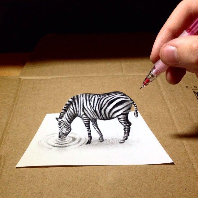 how to draw a zebra youtube