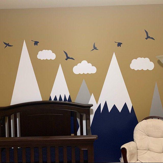 Berge Wand Aufkleber junge Zimmer Wand Aufkleber