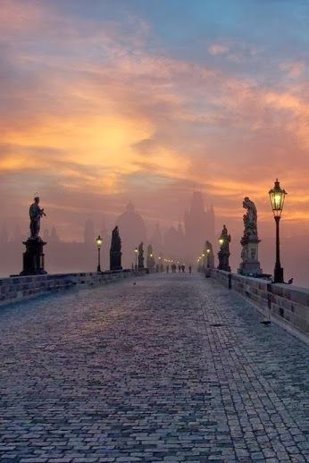 Sunrise, Prague Czech Republic