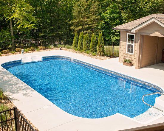 The 25+ best Rectangle pool ideas on Pinterest   Backyard ...
