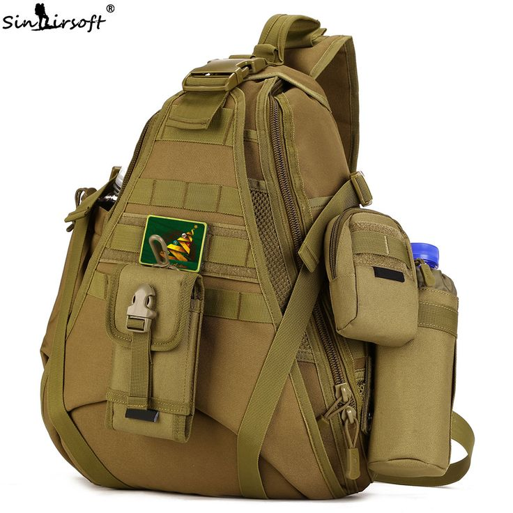2017 New SINAIRSOFT 14 inches Laptop backpacks Single Sling Molle Waterproof Backpack Shoulder Rucksack backpack Bags LY0080 //Price: $29.24 & FREE Shipping //     #hashtag3