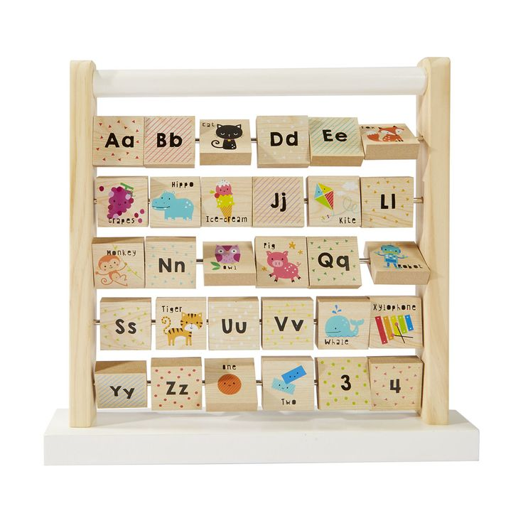 First Alphabet Frame - Wooden Educational Toys For Kids