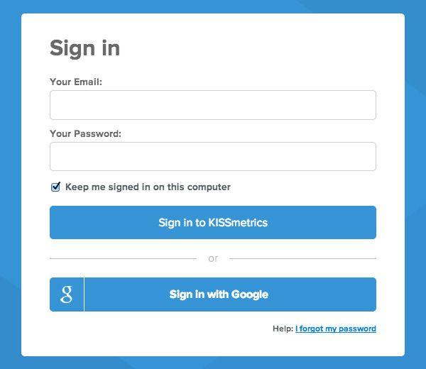 5 Ways to Enhance Your Website Login Process - Designmodo