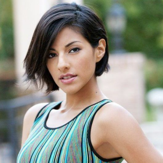 Bob Haircuts to Take With You to the Salon   Beauty High - great with the side part, bit short but still very feminine