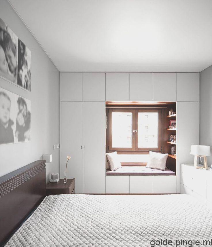 Vue Globale Du Placard Concu Autour De La Fenetre Existante Estudio Amatam Closet Design Home Home Decor