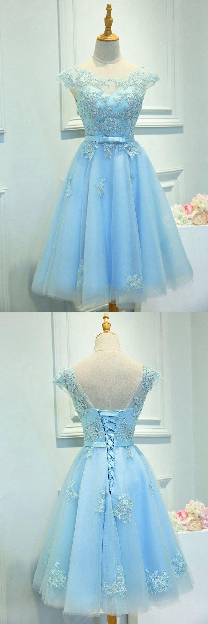 Sky Blue Homecoming Dress,Short Prom Dress,Back To School Dresses, Prom Dresses For Teens · BBTrending · Online Store Powered by Storenvy