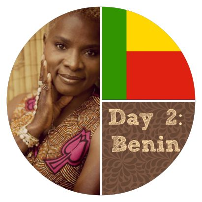 On Day 2 we visit Benin and learn all about the song Battu.