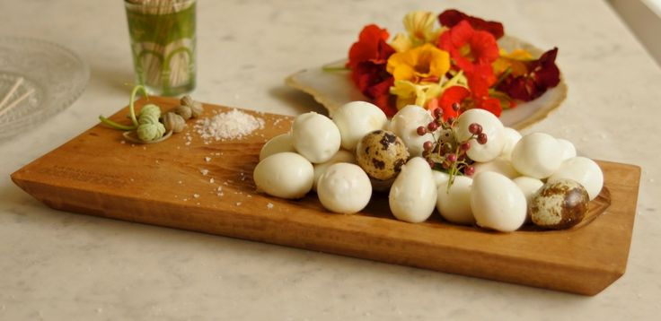 Codorna; here with its namesake cutey quail eggs
