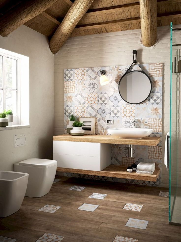 80 Optimum Farmhouse Bathroom Decorating Ideas On A Budget – Spa
