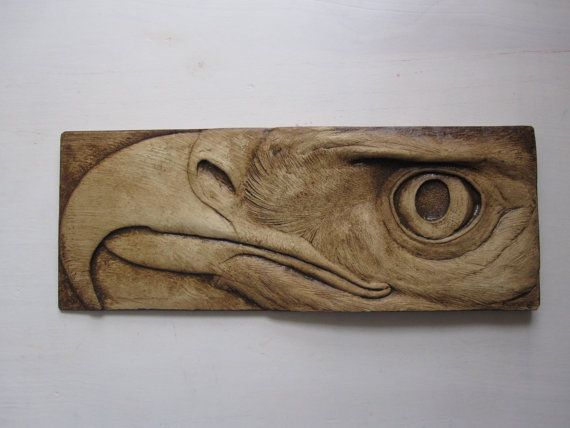 Eagle Wallsculpture, can't wait to mount this above my fireplace