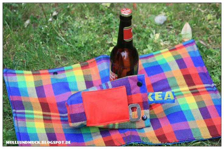 IKEA Hack- Frakta Tragetasche wird Flata Flaschentasche