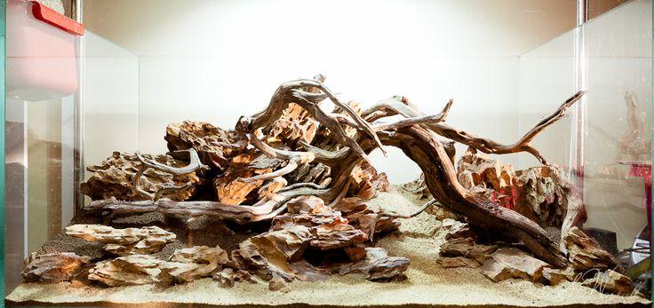 #Hardscape by Stu's 90x45x45 Dragon Stone Scape