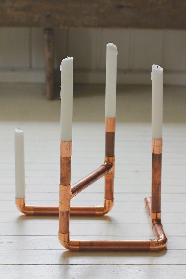 an-magritt #diy #copper #candleholder