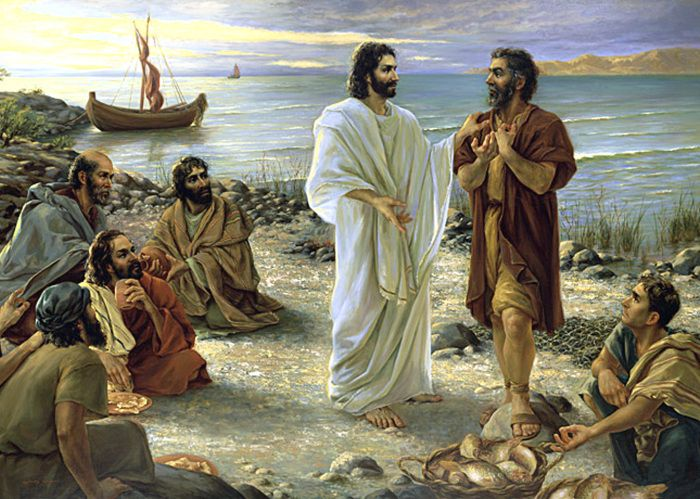"""But what about you?"""" Jesus asked. """"Who do you say I am?"""" Peter answered, """"You are the Christ.""""  Mark 8:29"""