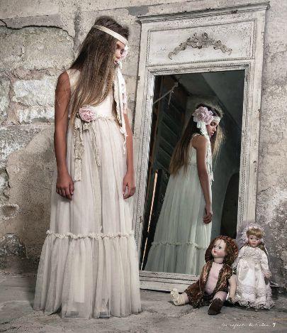 vestidos de comunion vintage 2015 - Buscar con Google