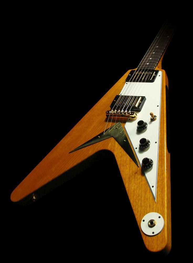 17 best images about guitars joe satriani acoustic gibson custom shop korina flying v