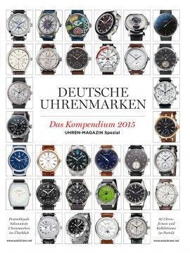160 best uhren magazin images on pinterest magazine tag watches and 1. Black Bedroom Furniture Sets. Home Design Ideas