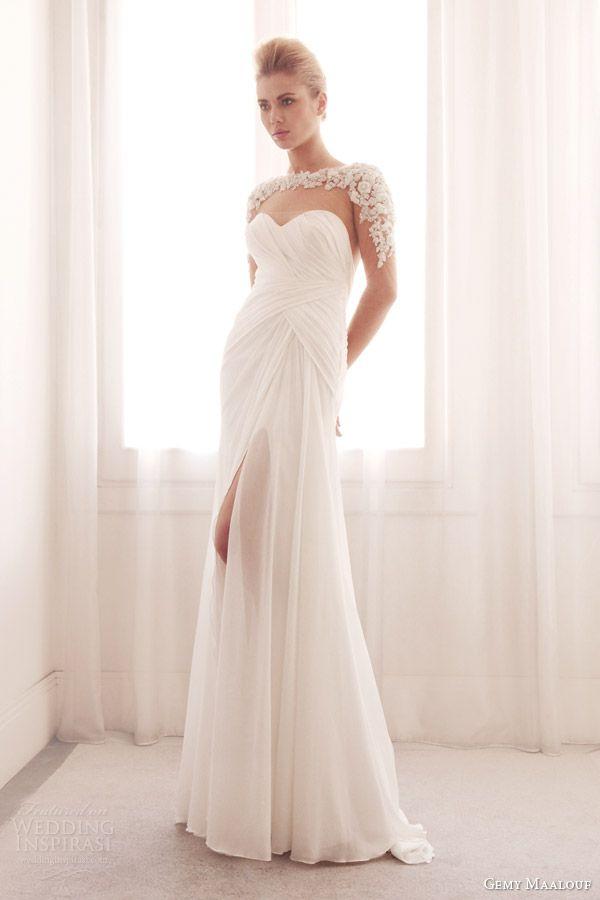 Gemy Maalouf Bridal 2014 Wedding Dresses | Wedding Inspirasi | Page 2