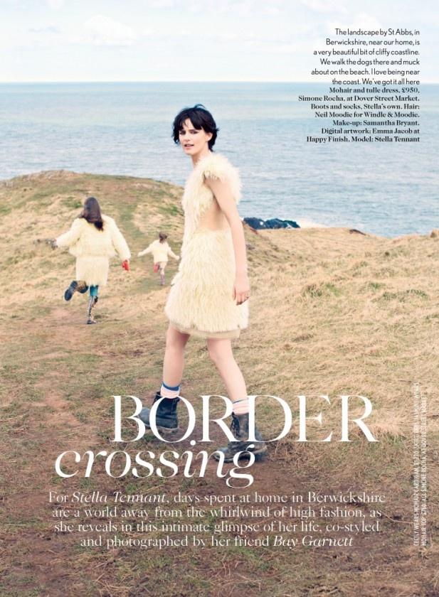 nice Vogue UK | Editorial de Moda Junho 2013 | Stella Tennant por Bay Garnett