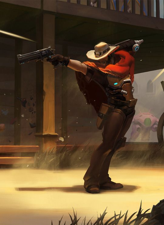 Overwatch - McCree Michael Jackson Pose