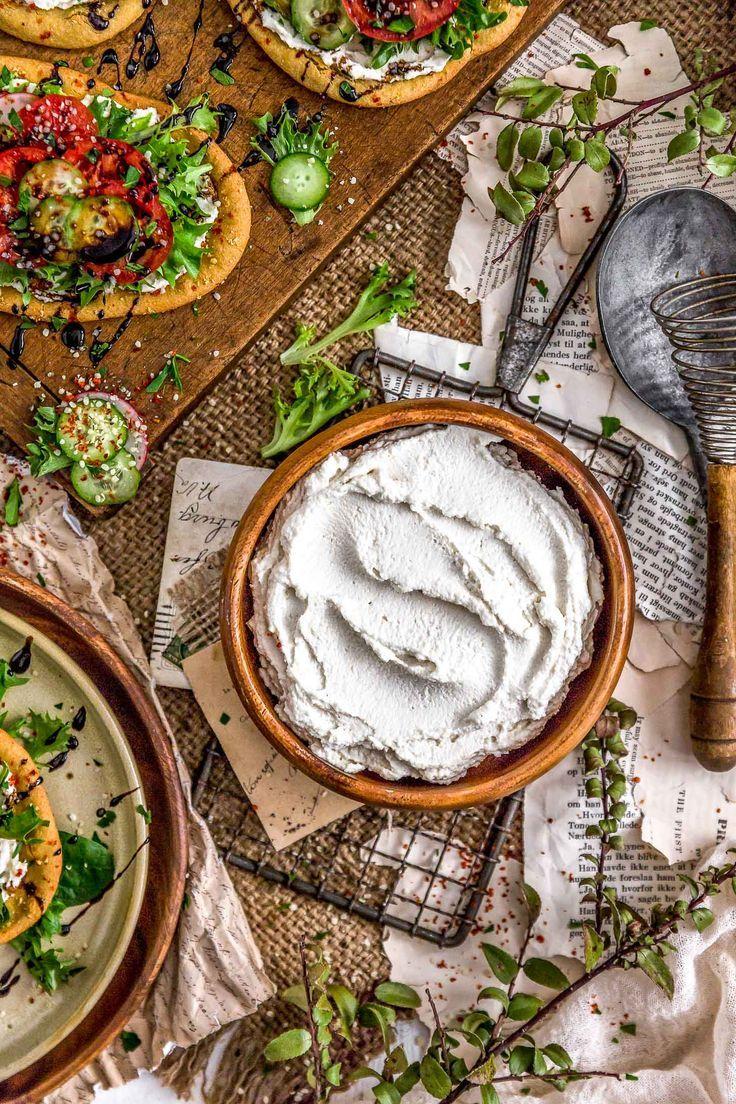 Vegan Cream Cheese Recipe Vegan Cream Cheese Clean Eating Breakfast Recipes Healthy Appetizer Recipes