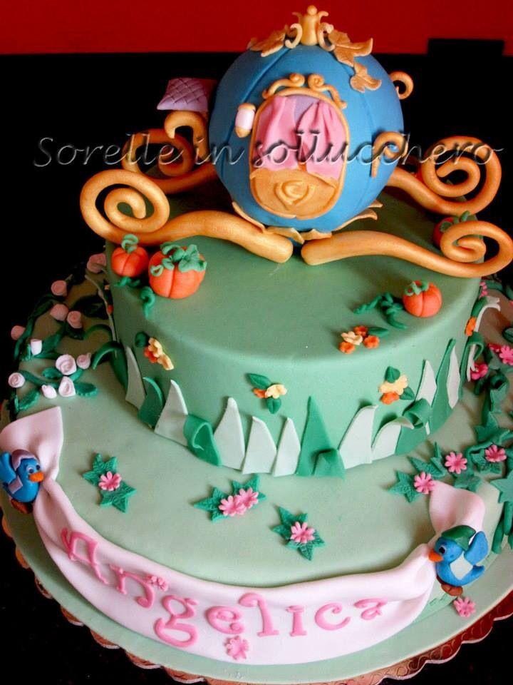 Cinderella carriage cake.....la carrozza di cenerentola