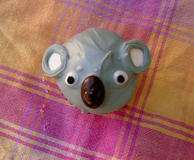 koala cupcake! by blempgorf, via Flickr. Ideas for spca cupcake day<3...and Australian workmates that are about to leave