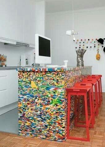 real creative idea! Lego cover ...