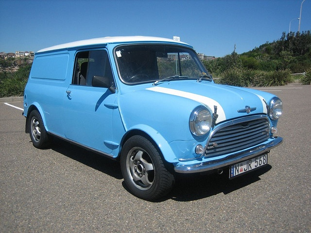 Flossie My first vehicle cost about 369 pounds a wonderful Mini Van