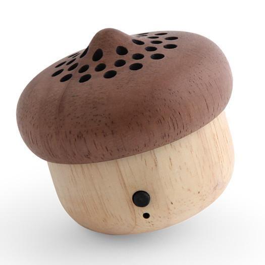 Kikkerland Large Acorn Bluetooth Speaker | Moderm Room Furniture – The Modern Room