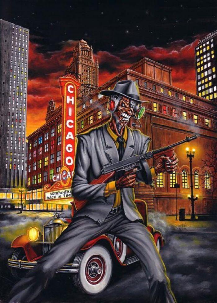 Maiden Chicago Iron Maiden