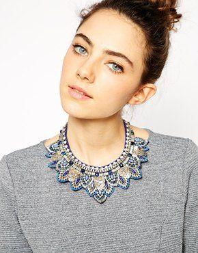 ASOS Layered Bib Necklace