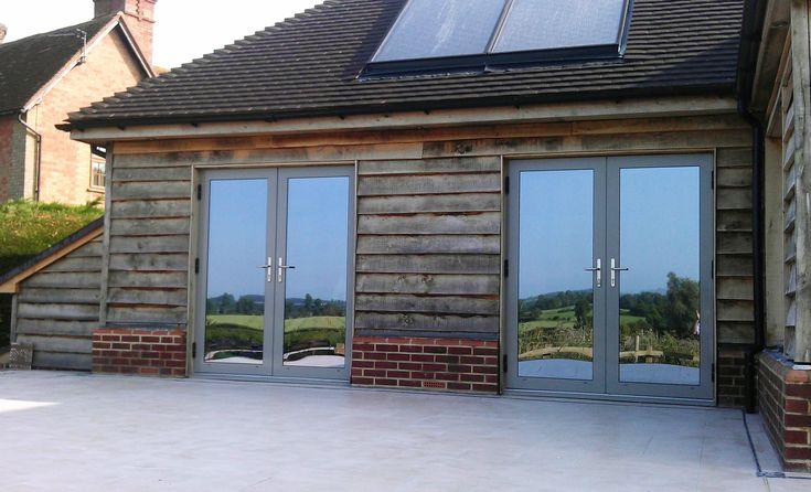 Sternfenster Aluminium French Doors