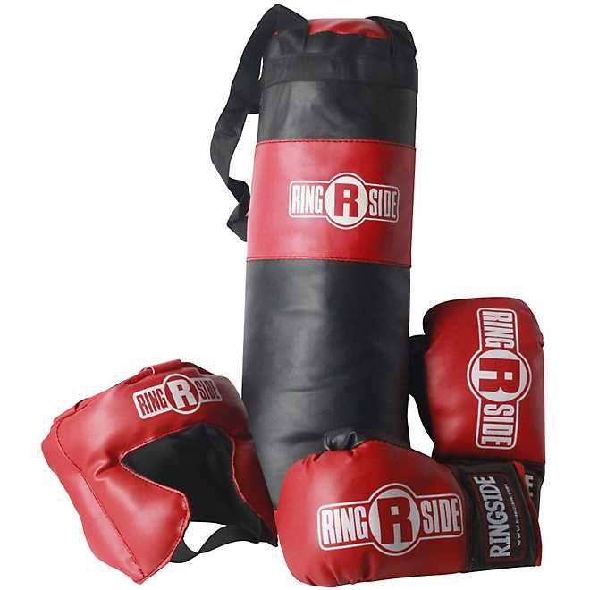 Ringside Kids Boxing Set Academy In 2020 Kids Boxing Heavy Punching Bag Kits For Kids